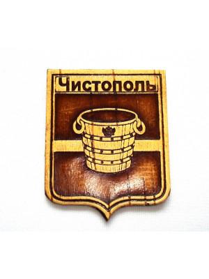 """Магнит """"Герб Чистополь"""" 6*7,5 см"""