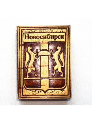 """Спички """"Новосибирск"""" 3,5*5*1 см на магните"""