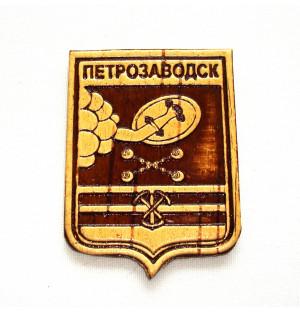 """Магнит """"Герб Петрозаводска"""" 4,5*6,5 см"""