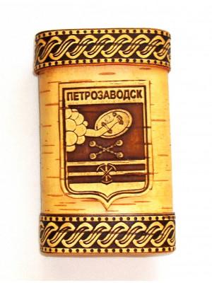 """Портсигар """"Петрозаводск"""" 7*10*2 см"""