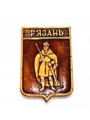 """Магнит """"Герб Рязани"""" 5,5*8 см"""