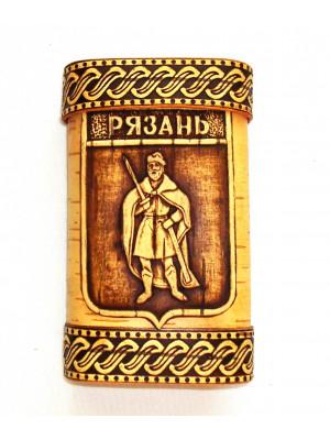 """Портсигар """"Рязань"""" 7*10*2 см"""