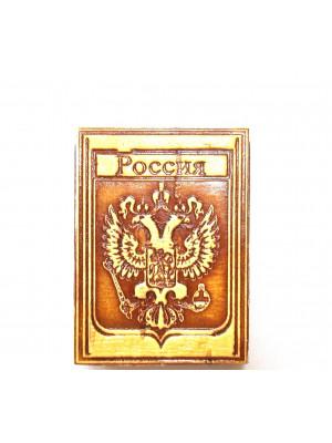 """Спички """"Герб России"""" 3,5*5*1 см на магните"""